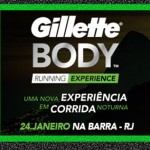 Gillette Body Running Top